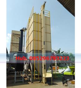 Mesin Pengering Jagung - Mesin Vertical Dryer Kapasitas 10.000 Kg per Batch