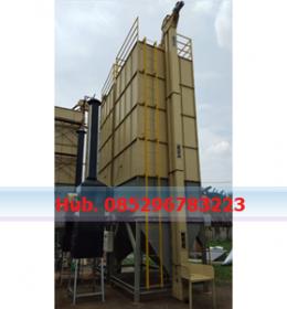 Mesin Pengering Jagung - Mesin Vertical Dryer Kapasitas 6.000 Kg per Batch
