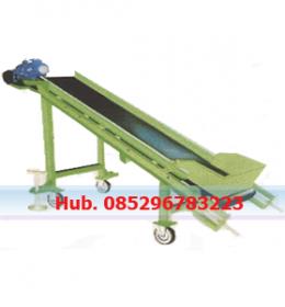 Mesin Conveyor - Mesin Pengangkut Arang Batok Untuk Briket Arang