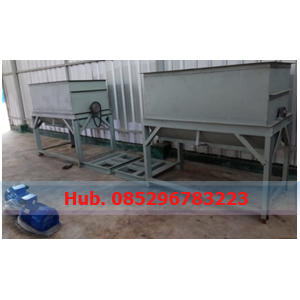 Mesin Mixer - Mesin Pencampur Adonan Briket Arang Batok
