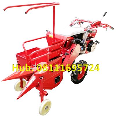 Mesin Pemanen Jagung Type Mini - Combine Harvester Corn Mesin Bensin