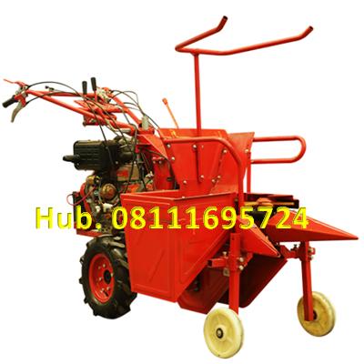 Mesin Pemanen Jagung Type Mini - Combine Harvester Corn Mesin Diesel