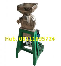 Mesin Penepung Jagung Disk mill DSS 15 Stainless Steel Giling Tepung Jagung