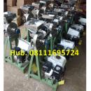 Mesin Penepung Jagung Disk mill DSS 15 Stainless Steel Giling Tepung Jagung + Mesin Bensin GP 160 (5,5 HP) Honda