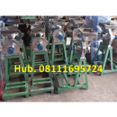 Mesin Penepung Jagung Disk mill DSS 15 Stainless Steel Giling Tepung Jagung + Mesin Bensin GX 160 (5,5 HP) Honda