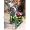 Mesin Penepung Jagung Disk mill DSS 23 Stainless Steel Giling Tepung Jagung + Mesin Bensin GX 160 (5,5 HP) Honda