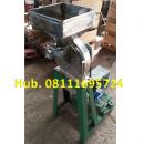 Mesin Penepung Jagung Disk mill DSS 23 Stainless Steel Giling Tepung Jagung Tanpa Mesin Penggerak