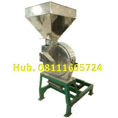 Mesin Penepung Jagung Disk mill DSS 40 Stainless Steel Giling Tepung Jagung + Mesin Diesel 12 PK