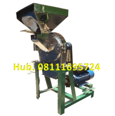 Mesin Penepung Jagung Disk mill DSS 40 Stainless Steel Giling Tepung Jagung