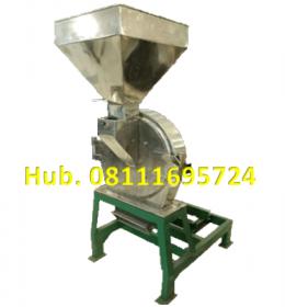 Mesin Penepung Jagung Disk mill DSS 45 Stainless Steel Giling Tepung Jagung + Mesin Diesel Kubota 8,5 HP