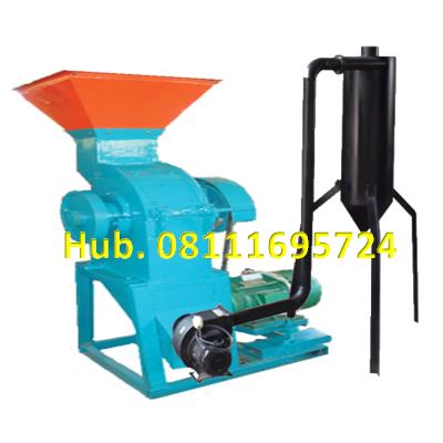Mesin Penepung Jagung - Mesin Hammer Mill Besi Dengan Cyclone