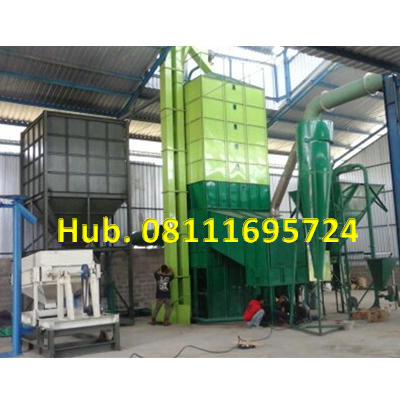 Mesin Pengering Jagung - Mesin Vertical Dryer Kapasitas 10 Ton per proses