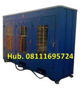Mesin Pengering - Oven Pengering Kapasitas 60 Rak (Mild Steel)